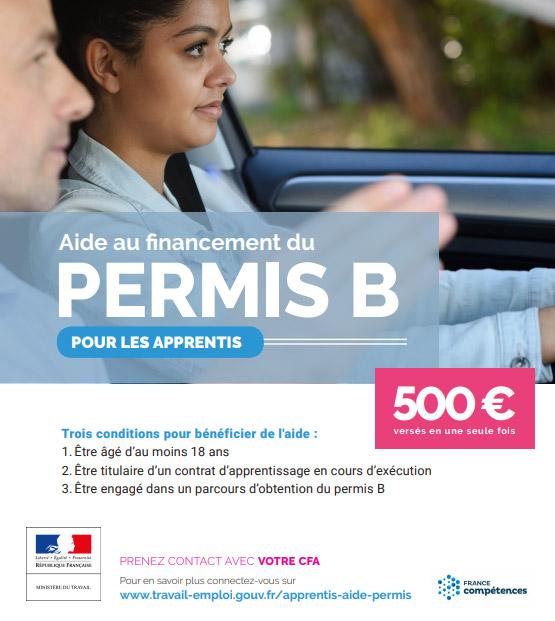 Aide au permis de conduire | CFA Sport